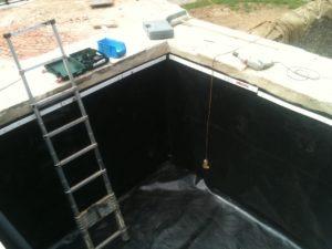 عزل الخزانات الخرسانية