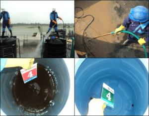 مراحل تنظيف الخزانات بالرياض
